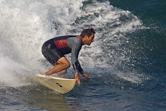 Its All About The Form 1630 (casch52) Tags: california county beach water sport canon photo sand san surf sandiego action surfer board extreme wave diego spray dude southern photograph oceanside short form wetsuit shorty 50d familygetty