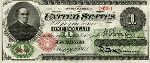 1862 One Dollar Bill