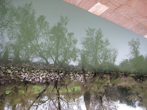 Torcello canal, upside down