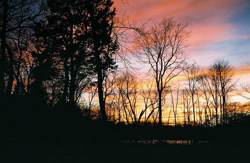 sunsetoverthepondlatedecember2
