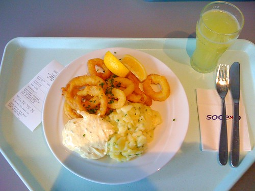 Calamari & Kartoffelsalat