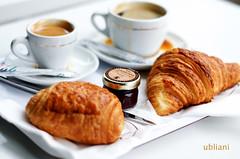 Petit Déjeuner (ubliani) Tags: food paris france coffee café nikon europe dof april 2009 5e d300 nikon50mmf18 ubliani 5arrondissement
