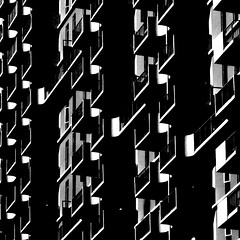 Architecture as symphony (kevin dooley) Tags: sf sanfrancisco bw music white black building architecture canon 50mm book downtown apartment ltr district c low 14 monotone sharp explore note musical staff orchestra embarcadero resolution frontpage financial complex symphony clef blackdiamond tonal f180 40d condomium aplusphoto book0