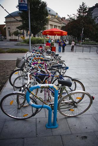 Budapest Bike Rack