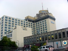 Hilton Anchorage, a familiar landmark in downtown Anchorage -- now making its mark as a union-buster that cares little about the welfare of its workers.