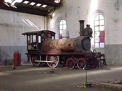 FPM107 Locomotiva CP 1 (Fernando Picarelli Martins) Tags: ferrovia locomotiva locomotivaavapor jundiaísp companhiapaulistadeestradasdeferro johnfowlercompany cpefnº1 primeiraviagem1872