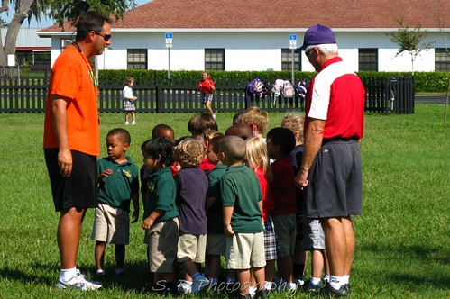 Lower School Soccer Practice