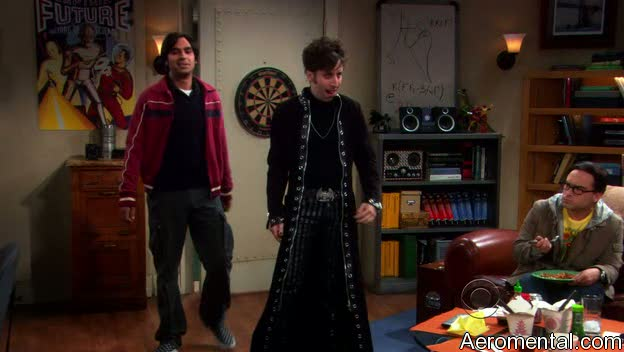 The Big Bang Theory S03E03 Howard gótico