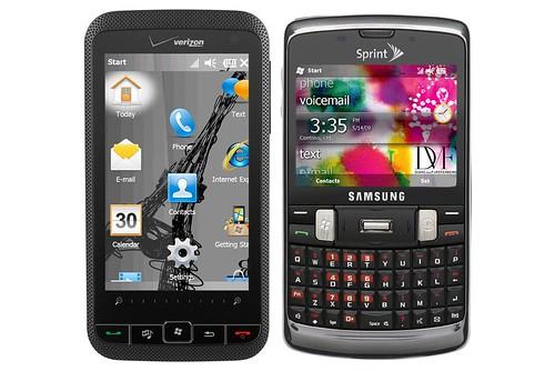 HTC Imagio, Samsung Intrepid
