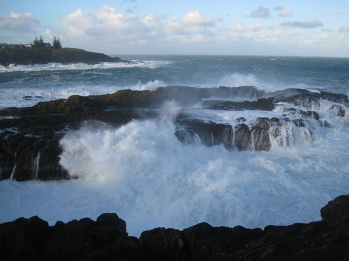 Wild seas at kiama