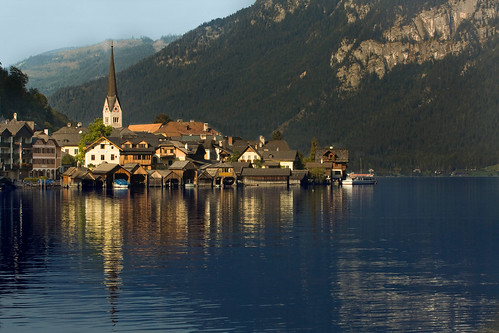 Beautiful Hallstatt Austria outside Salzburg