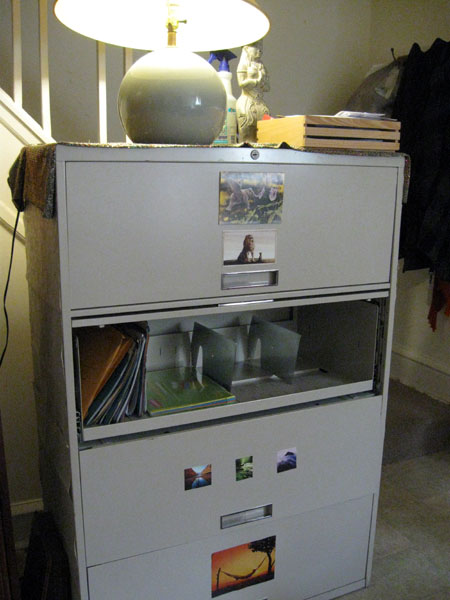Filing Cabinet, With Room!
