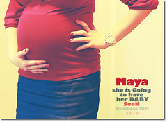 MAYA ~  ([usss ] ~) Tags: red baby canada loving friend maya pregnant care motherhood mayada deliversoon