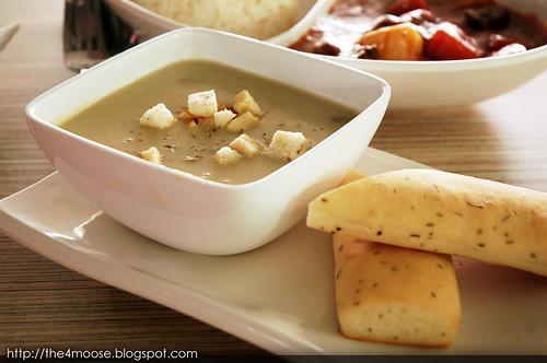 Mushroom Café - Mushroom Soup