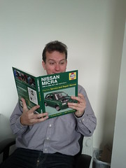 Nissan micra repair handbook has arrived