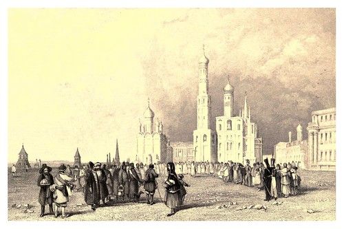 014-Torre de Ivan Velikoi-Moscow-A journey to St. Petersburg and Moscow 1836- Ritchie Leitch