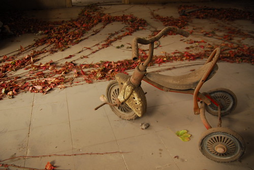 Tricycle in Mansion