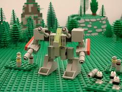 heavy mechs 007 (zeekhotep) Tags: war lego military micro combat mecha mech mechaton