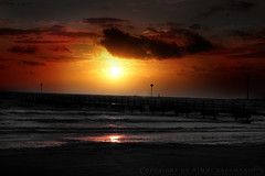 Sunset (Mimmi Bckman) Tags: ocean sunset sea west beach water coast sweden vstkusten sal50m28 sony50mmf28 sonya700 hdrinelements