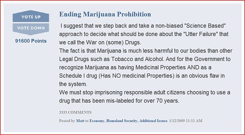 Ending Marijuana Prohibition