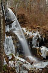 Indian Falls (the waterfallhunter) Tags: winter ice waterfall desotostatepark icicles littleriver dekalbcounty indianfalls fortpaynealabama alabamastateparks
