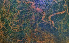 Pot Texture - Topaz Adjust (the underlord) Tags: green texture lumix saturated trails panasonic pot clay chiminea agree t4l lx3 dmclx3 topazadjust moluld t4lagree