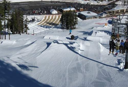 It's the Slopestyle Arena