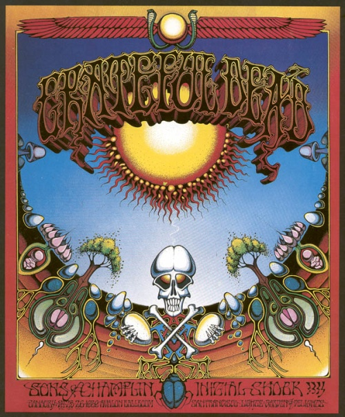 Grateful Dead poster for 1/24, 1/25, 1/26/69 Avalon Ballroom, San Francisco [borrowed from www.deadlists.com]