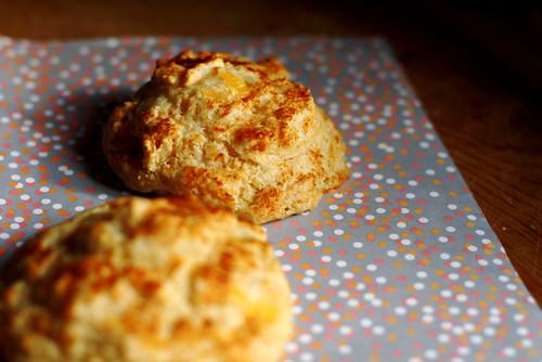 Cheddar Paprika Biscuits