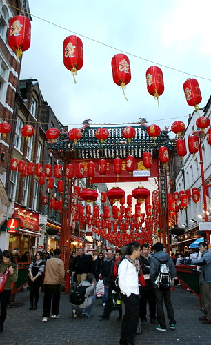 Chinatown on Chinese New Year