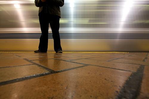 Self Portrait Of A Commuter