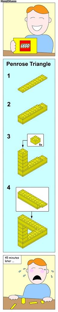 Impossible Lego Instruction Alvinology