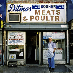 STORE FRONT: The Disappearing Face Of New York: DITMAS Kosher Meats & Poultry (James and Karla Murray Photography) Tags: nyc newyorkcity newyork brooklyn photography mompop meat apron poultry storefront gothamist kosher storefronts ditmas brooklynhistoricalsociety jimandkarlamurray jamesandkarlamurray jimandkarla greenpointgazette jamesandkarlamurraycom godblesstheworkingclassheros