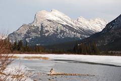 Mount Rundle DSC_0651 (Ron Kube Photography) Tags: park sky lake canada mountains nature nikon skies alberta banff banffnationalpark southernalberta d80 nikond80 ronaldok ronkubephotography