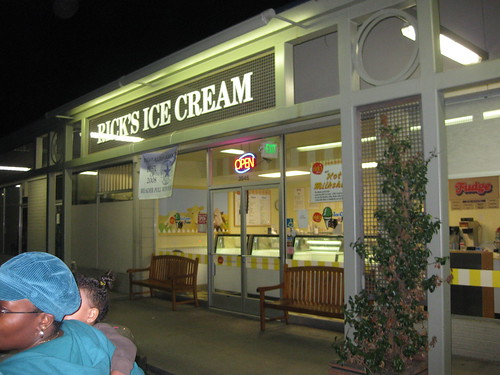 Ricks Ice Cream - 01/31/09
