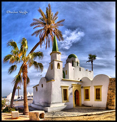 Masjid Sidi Abdul Wahab ! (Bashar Shglila) Tags: old sky art sony islam mosque palm medina wahab libya tripoli abdul hdr masjid sidi bab  libye    libyen bhar  jamaa   supershot   wahhab lbia gasi  libi  libiya abdulwahab liviya citrit libija   top20travelpix algasi    lbija  lby libja lbya liiba livi