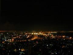 Bangkok seen from Vertigo Bar by night (sarah griesler) Tags: rooftop by night thailand lights scenery asia view bangkok banyantreehotel vertigobar
