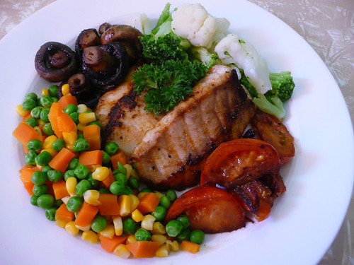 vegetables and fish recipes