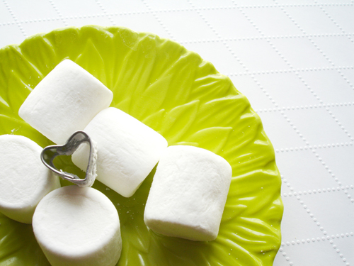 vday: make heart marshmallows.