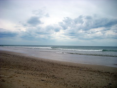 calm before the storm (laurw) Tags: beach clouds