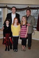 Mark, Dave, Maddie, Em and Maddie