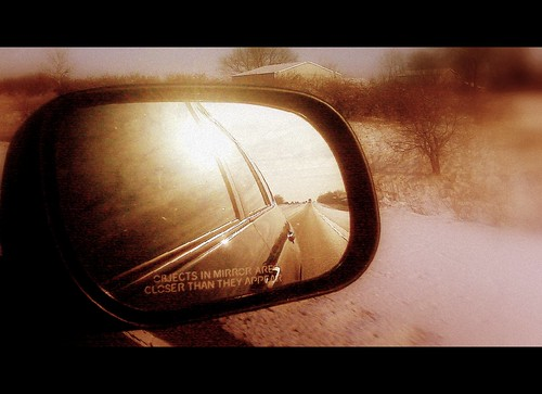 Objects in the rear view