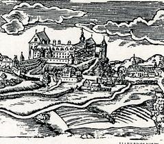 Schloss Sulzbach mit Hussenturm
