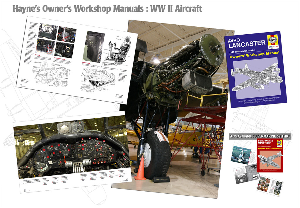 RCAF Approved: MAINTAINING Your Lancaster!