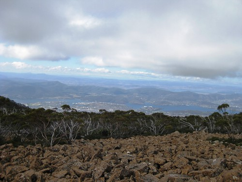 Mt Wellington Descent (bike ride) - Mar09