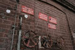 Lodz_POLMOS_028 (adammirowski) Tags: building factory lodz d fotoday fabryka budynki oldindustrialbuildings starebudynkiprzemysowe