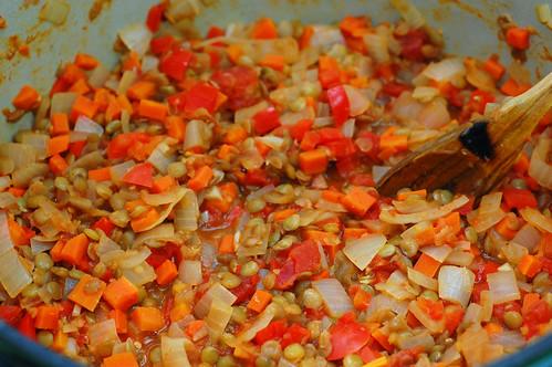 Tomato Lentil Sauce