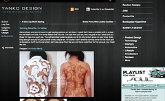 Tanning Benefits - A Tattoo by Yu-Chiao Wang » Yanko Design_1237509568410