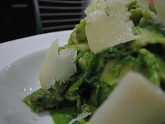 Pappardelle con broccoli e salsiccia