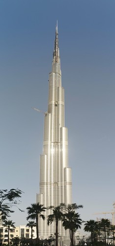 Burj Dubai , the tallest building in the world